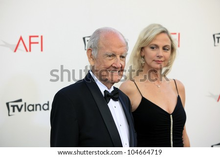 CULVER CITY - JUN 7: Sen. George McGovern at the 40th AFI Life Achievement Award honoring Shirley MacLaine held at Sony Pictures Studios on June 7, 2012 in Culver City, California - stock photo