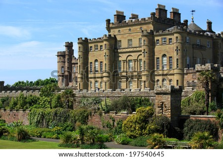 Culzean Castle, Maybole Ayrshire Scotland - stock photo