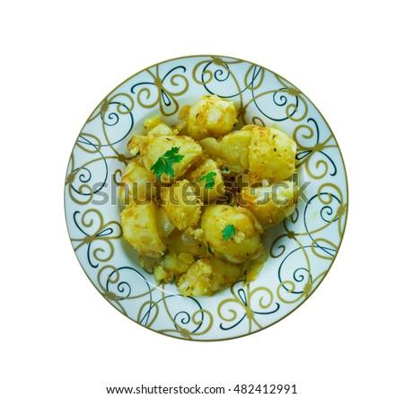 stock-photo-cumin-seed-potatoes-batata-b-kamun-middle-eastern-and ...