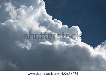 Cumulus - stock photo
