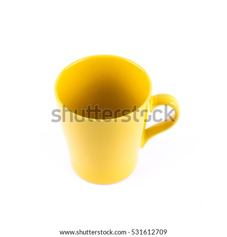 cup for hot drink or coffee or any beverage