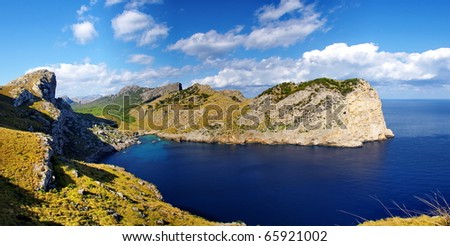 Cup Formentor - stock photo