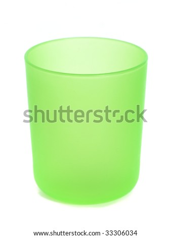 cup isolated on the white background
