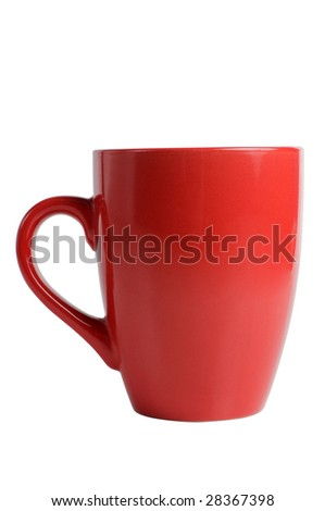 cup, isolated on white