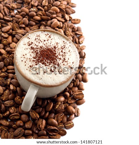 cup of chocolate - stock photo