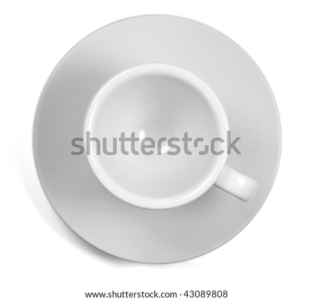 cup of coffee isolated on white background-1