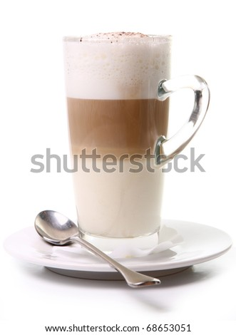 Cup of Coffee Latte - stock photo