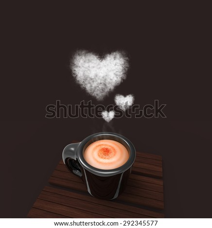 Cup of coffee: Love
