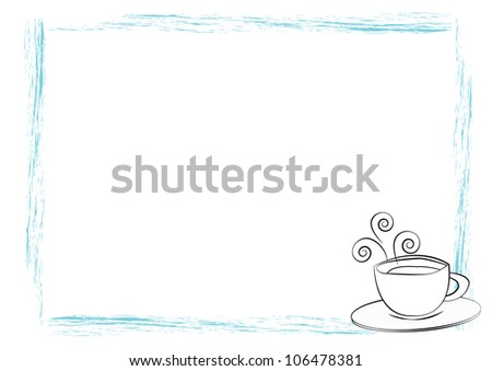 Cup of coffee or tea - stock photo