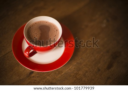 Cup of Hot Chocolate - stock photo