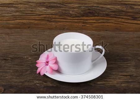 Cup of Milk/ Milk/ Cup of Milk - stock photo