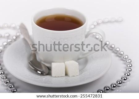 cup tea - stock photo