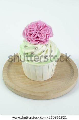 cupcake - stock photo