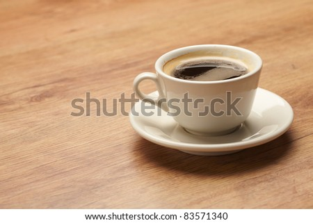 cups of coffee - stock photo