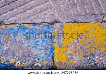 curbstone - stock photo