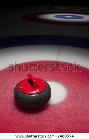 Curling Club - stock photo