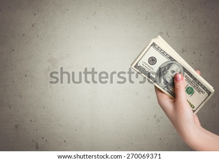 Currency, Abundance, Stack. - stock photo