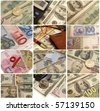 Currency for all tastes - stock photo