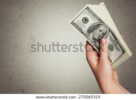 Currency. Money - stock photo