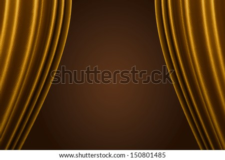 Curtain background.