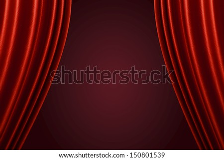 Curtain background.  - stock photo
