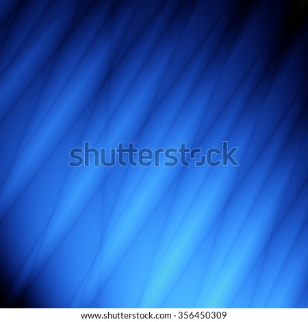 Curtain blue abstract wallpaper unusual graphic design - stock photo