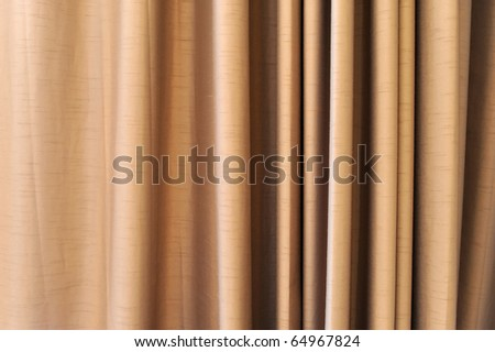 curtain fabric background texture - stock photo