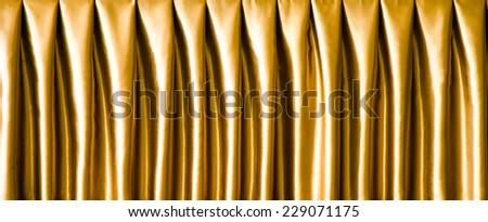 curtain fabric - design texture background backdrop shiny drapes - stock photo