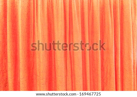 Curtain for background texture