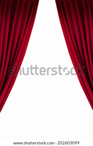 Curtain Of The Stage