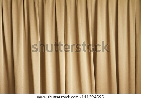 curtain or drapery background - stock photo