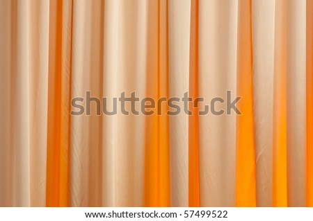 curtain pattern - stock photo