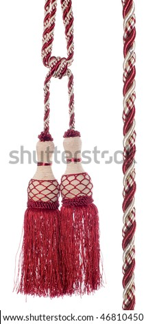 Curtain Tassel - stock photo