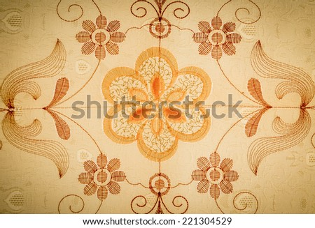 Curtains Texture/Background - stock photo