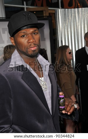 "Curtis ""50 Cent"" Jackson at the Los Angeles premiere of ""Real Steel"" at Universal Studios Hollywood. October 2, 2011  Los Angeles, CA Picture: Paul Smith / Featureflash"