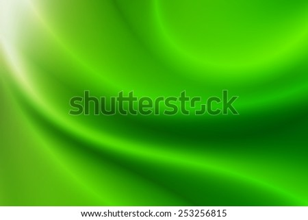 curve white to bright green gradient abstract background - stock photo