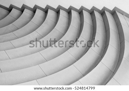 top view of modern architecture detail refined fragment of contemporary office interior