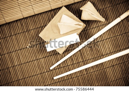 Custom Fortune - stock photo