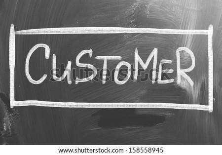 Customer Concept - stock photo