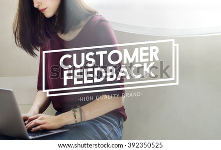 Customer Feedback Assessment Response Concept - stock photo