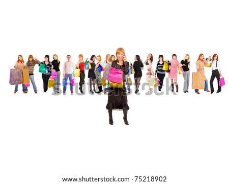 Customer Shopping Concept - stock photo