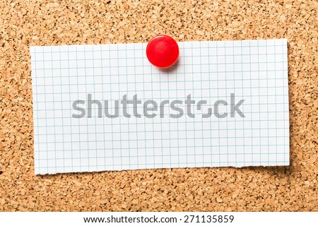 Customers. Make It Easy For Your Customers To Decide on a cork notice board. In business, you need products and services that provide what the market or customer wants so that they return to your - stock photo