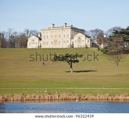 Cusworth Hall in Doncaster, UK - stock photo