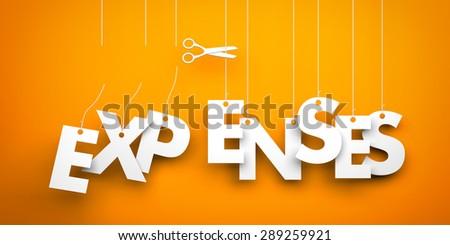 Cut Expenses - stock photo