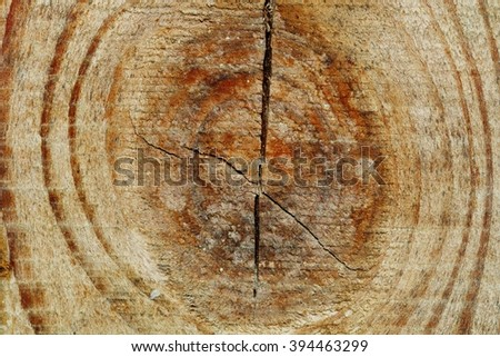 Cut of Wooden Wall use for background - stock photo