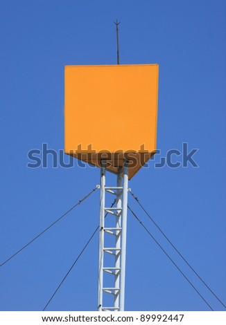 cut out for advertising - stock photo