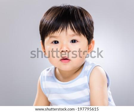 Cute baby - stock photo