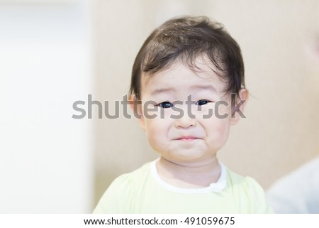 Cute baby.Japanese Asian