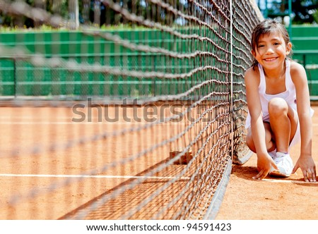 Tennis Girl Picture Cute Ball Girl at The Tennis
