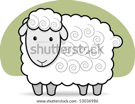 Cute Cheep in Black and White - stock photo